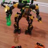 Lego Hero Factory Robot in action (video)